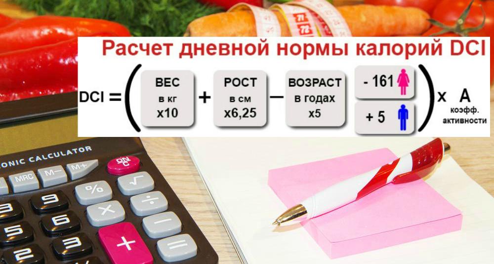 Сколько сжечь калорий чтобы похудеть калькулятор