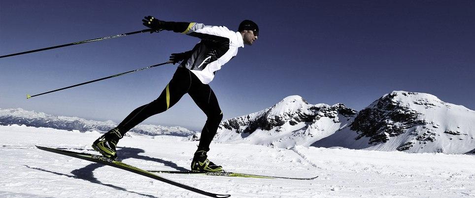 Как научится бегать на лыжах